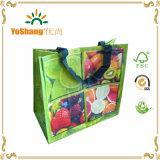 Хозяйственная сумка фабрики Кита дешево Non-Woven рециркулированная, рециркулированный мешок сплетенный PP