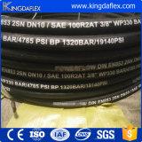 차 씻기에 의하여 사용되는 고압 세탁기 고무 호스 (3000psi/4000psi/5000psi)