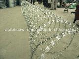 普及したおよび機密保護かみそりの有刺鉄線(工場)