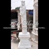 Het marmeren Standbeeld van de Steen voor Decoratie Mej.-1078 van het Huis
