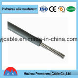 Solo cable eléctrico aislado PVC de la base de la alta calidad