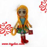 プラシ天の漫画の人形