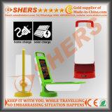 Luz solar Foldable do diodo emissor de luz de 12 SMD para Campinng com USB (SH-2003)