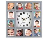 De bonne qualité fonctionnelle RoHS Horloge murale avec cadre photo (CYP061)