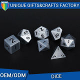 Custom 6 Sides Zinc Alloy Dice Metal