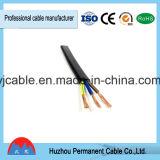 2/3 Core bâtiment Rvvb Câble plat, fils et câbles électriques Rvvb avec gaine en PVC