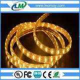 LEIDENE van de Kleur van de hoogspanning SMD3528 3W/M het Gele Licht van de Strook