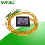 1X3 / 4/5 del solo modo de fibra acoplador óptico