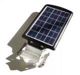 lumière solaire de 5W DEL avec le boîtier à télécommande et en aluminium