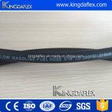 1/4 pulgadas reforzado con fibra de goma de la manguera de aceite diesel