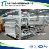 (macchina d'asciugamento del fango di larghezza della cinghia di 500-3000mm), filtropressa della cinghia