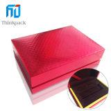 Venta caliente rectángulo rojo Moneda Caja de regalo