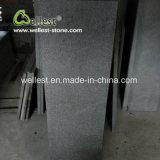 Le mattonelle nere del granito hanno fiammeggiato le mattonelle decorative G684 della parete delle mattonelle di pavimento