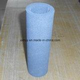 Tubo de filtro de água de espuma de cerâmica de carboneto de silício poroso