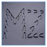 Tipo chiodo del punto U del taglio del diamante della rete fissa Nail/U di Nail/U