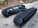 El tren de rodaje de orugas de acero de goma de 0,5 toneladas a 120 ton.