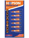 1g*6PCS/карты алюминиевые трубы Super Glue (HCA-106)