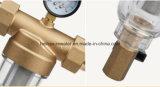 Filtro pré-filtro de água para purificação de água doméstica com latão