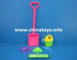 شاطئ بلاستيكيّة لعبة محدّد. فصل صيف لعبة شاطئ سيّارة, مجرفة (574408)