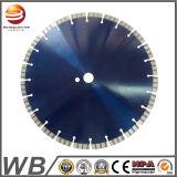 La circular del diamante vio la lámina para el concreto con el segmento de Turbo