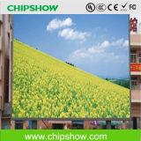 Affichage à LED extérieur polychrome de Chipshow P10 grand