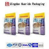 Pet/PE/nylon/VMPET/OPP lamination de sacs en plastique de l'emballage des aliments pour animaux de compagnie