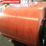 Bobina de aço de madeira galvanizada PPGI PPGL de Shandong