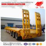 半50トンの三車軸拡張可能で低いベッドのトラックのトレーラー