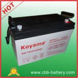 Top Sales 100ah 12V Gel Battery for Solar Panel System