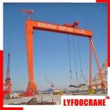 grue à portique du chantier naval Certificatedgantry 120t avec CE