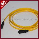 40G MPO aan MPO Singlemode OS2 Vezeloptische Kabel van het Flard