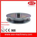 OEMの鋼鉄材料CNCの機械化プーリー