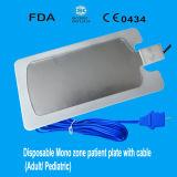 Unidad de electroquirúrgica desechable de Monozone para pacientes adultos o pediátricos