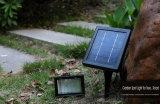 30 d'éclairage LED super solide mur solaire lumière, 30 LED lumière solaire de jardin avec Spike