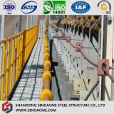 Caballete de moderno diseño Estructura de cinta transportadora de planta química