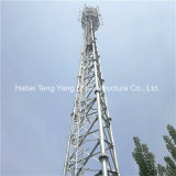 L'autonomie de haute qualité à l'appui de la tour de signal de treillis en acier télécom