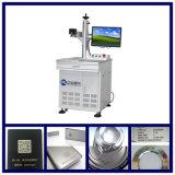 машина маркировки лазера волокна 20W для алюминиевой окиси Ceremics