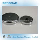 De permanente Ceramische Magneet van de Pot, de Magneet van de Kop, Rb80