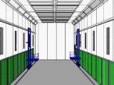 будочки брызга 20m промышленные для картины и выпечки