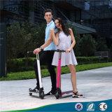 Scooter eléctrico plegable de la manera Scooter eléctrico 350W de Hoverboard Scooter eléctrico para los adultos