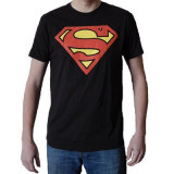 der klassischen T-Shirt Firmenzeichen-Männer des Supermann-100%Cotton