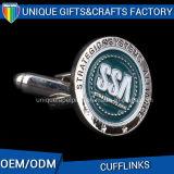 Gemelli del movimento delle camice degli uomini dell'acciaio inossidabile del metallo al prezzo della fabbrica