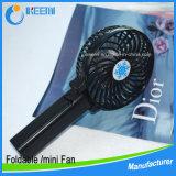 Ventilatore di plastica del ventilatore di controllo promozionale della mano mini per il regalo