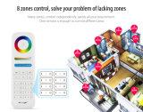 Controlador esperto do telecontrole de 8-Zone RGB+CCT