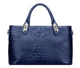 De Handtas van de nieuwe Dame van het Merk van de Manier van het Leer van de Zweep van de Stijl Krokodille Echte In het groot