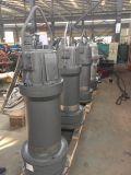 Pompe d'écoulement axial verticale de grande capacité pour l'empêchement d'inondation