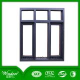 Doppelte Scheibe innerhalb Öffnungs-des Aluminiumflügelfenster-Fensters