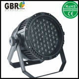 熱い販売! 屋外の防水LEDの同価ライト高い発電54pcsx 3 W LEDの同価の段階ライト/結婚披露宴ライト