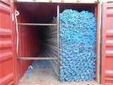 Alta qualidade Factory Price Recommend Thread Hot Dipped Galvanized Pipe com Blue Caps
