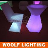 Más silla de la cena del diseño LED de los muebles de la iluminación de 300 diseños LED nueva